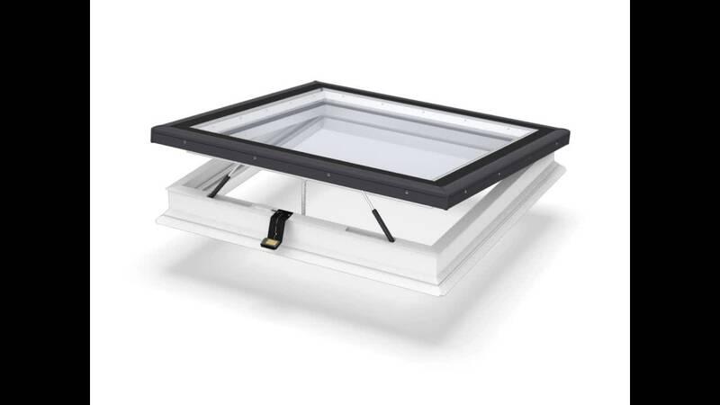 Flachdach fenster preise  VELUX Flachdachfenster mit Flachglas | Belüftung