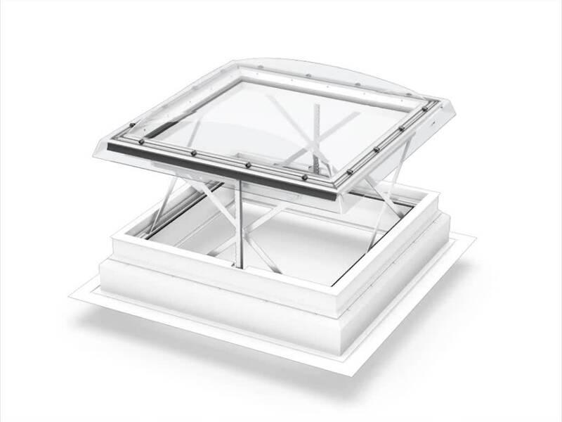 Dachfenster detail flachdach  VELUX Rauch- und Wärmeabzugsfenster Flachdach (RWA)