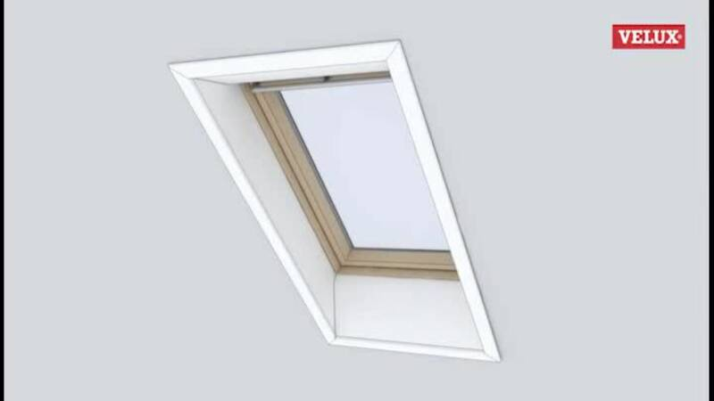 velux rollo montage free velux with velux rollo montage best velux dachfenster with velux. Black Bedroom Furniture Sets. Home Design Ideas