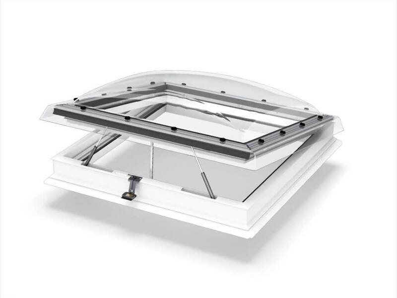 Flachdach fenster velux  VELUX Flachdachfenster (Lichtkuppel)