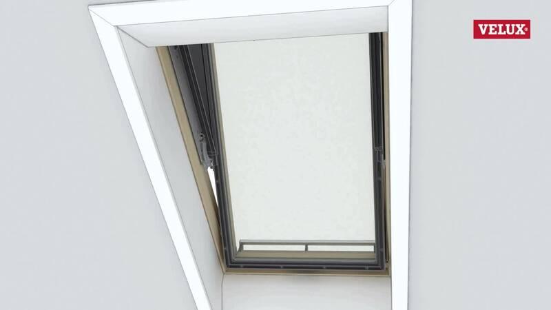 Velux Rettungsfenster dachfenster reinigung und wartung bedienungsanleitung